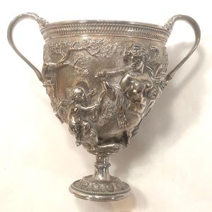 Silver Chalice with Centaurs